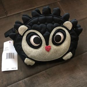 Betsey Johnson Hedge Hog makeup bag